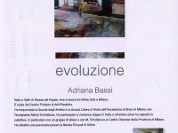 Adriana Bassi - retro volantino